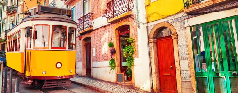 נוף רחוב בפורטוגל